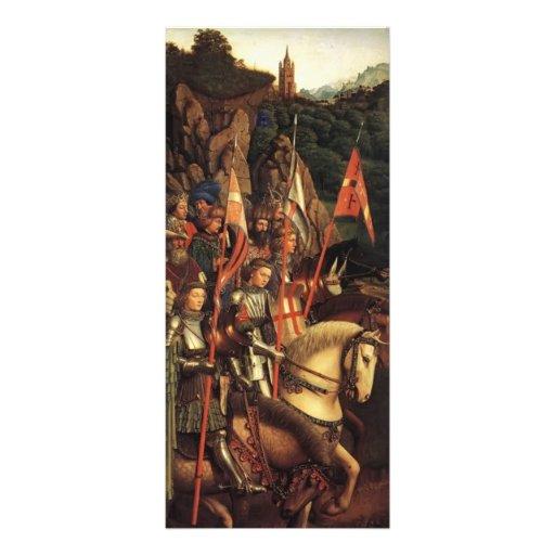 Jan van Eyck- The Soldiers of Christ Personalized Rack Card
