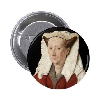 Jan Ven Eyck Art Pin