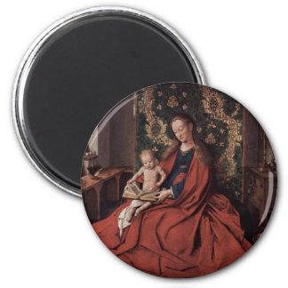 Jan Ven Eyck Art 6 Cm Round Magnet