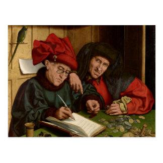 Jan Ven Eyck Art Postcard
