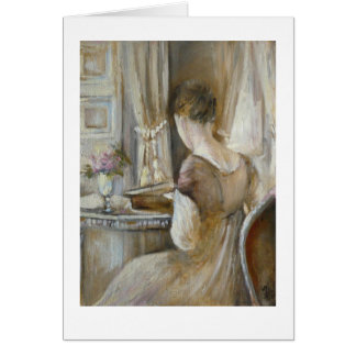 ♕ Jane Austen - A Regency lady © H.Flont ♕ Card