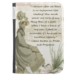 Jane Austen Book Lovers Case For The Kindle