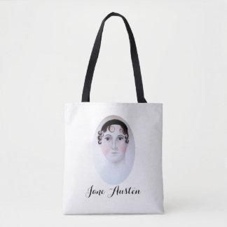 Jane Austen Custom All-Over-Print Tote Bag