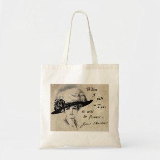Jane Austen: Forever Tote Bag