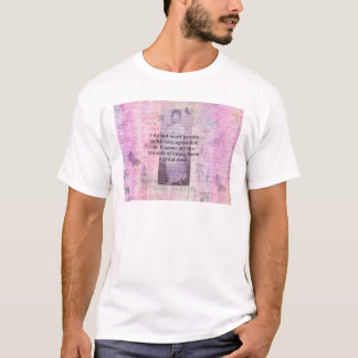 Jane Austen humourous snarky quote T-Shirt