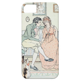 Jane Austen Illustration iPhone 5 Case