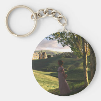 Jane Austen Inspired Pemberley Art Keychain