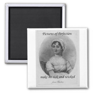 Jane Austen is Sick and Wicked Magnet