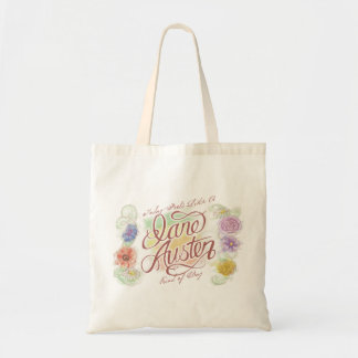 Jane Austen Kind of Day Tote Bag