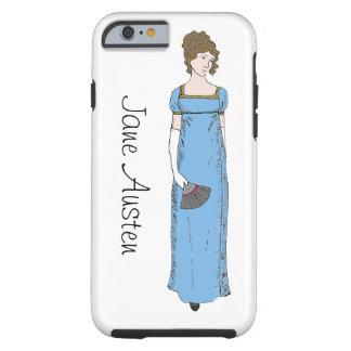 Jane Austen Lady Tough iPhone 6 Case