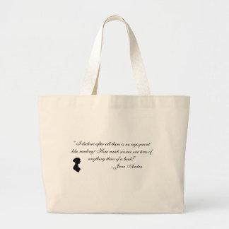 Jane Austen memorabilia Large Tote Bag