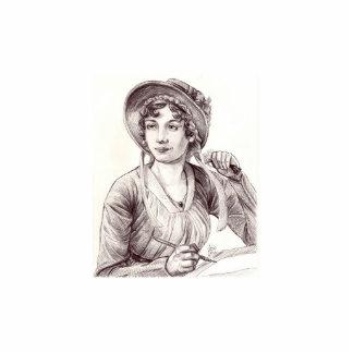 Jane Austen mini Sculpture Standing Photo Sculpture