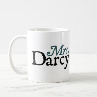Jane Austen Mrs. Darcy Mug