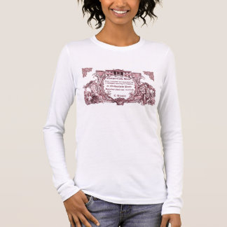 Jane Austen: Netherfield Ball Invite T shirt