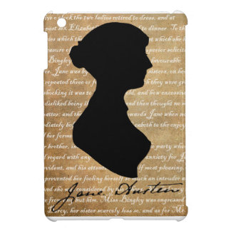 Jane Austen Page Silhouette Cover For The iPad Mini
