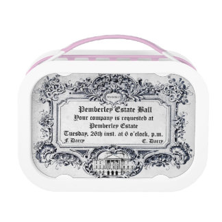 Jane Austen: Pemberley Estate Ball Lunch Box