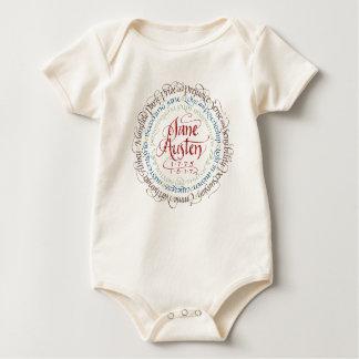 Jane Austen Period Drama Adaptations Baby One Baby Bodysuit