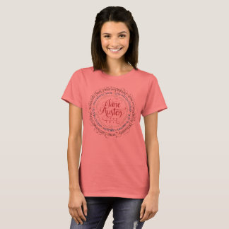 Jane Austen Period Drama Adaptations T-shirt