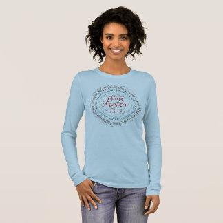 Jane Austen Period Drama Long Sleeve Bella T-shirt
