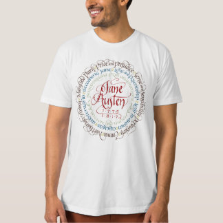 Jane Austen Period Drama Organic Men's T-shirt