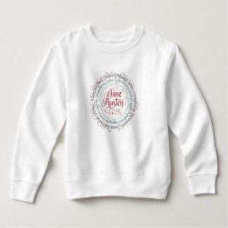Jane Austen Period Drama Toddler Fleece Sweatshirt