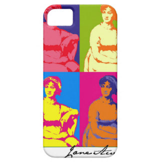 Jane Austen Pop Art Barely There iPhone 5 Case