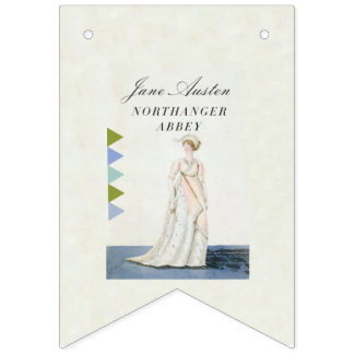 Jane Austen Popular Book Party Bunting Bunting