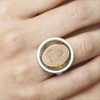 Jane Austen portrait ring