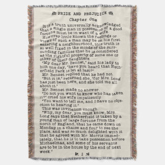Jane Austen Pride and Prejudice Literature Quote