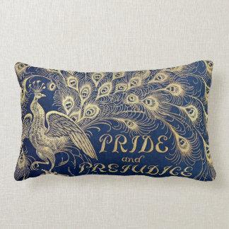 Jane Austen Pride and Prejudice Peacock Lumbar Lumbar Cushion