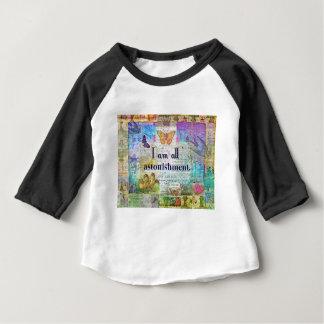 Jane Austen Pride and Prejudice Quote Baby T-Shirt
