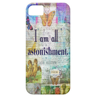 Jane Austen Pride and Prejudice Quote Barely There iPhone 5 Case