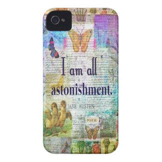 Jane Austen Pride and Prejudice Quote Case-Mate iPhone 4 Cases