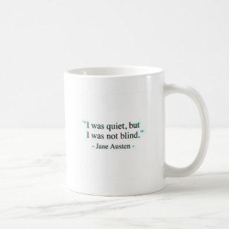 Jane Austen quote Coffee Mug