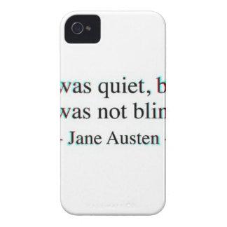 Jane Austen quote iPhone 4 Covers