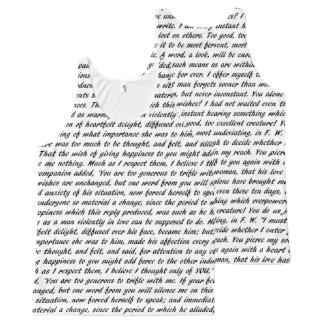 Jane Austen Quotes All-Over Print Singlet