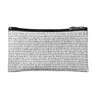 Jane Austen Quotes Cosmetic Bag