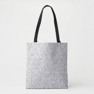 Jane Austen Quotes Tote Bag