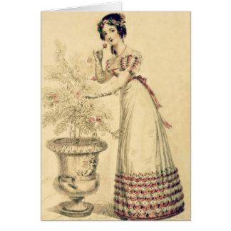 Jane Austen Regency Ball Gown Card