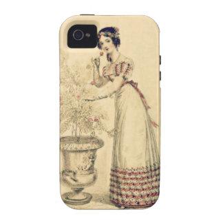 Jane Austen Regency Ball Gown Case-Mate iPhone 4 Cases