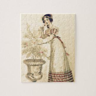 Jane Austen Regency Ball Gown Jigsaw Puzzle