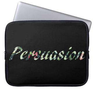 Jane Austen's Persuasion Laptop Sleeve