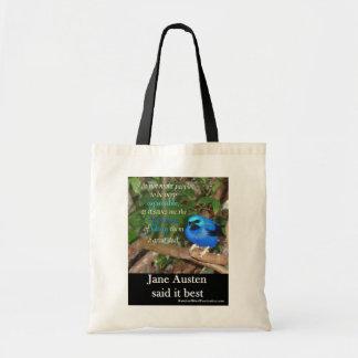 Jane Austen Said It Best tote bag