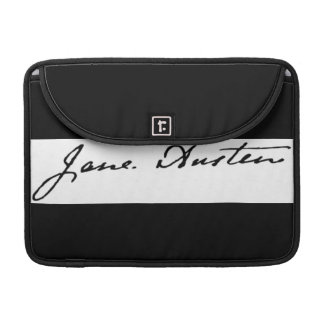 Jane Austen Signature MacBook Pro Sleeves