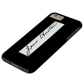 Jane Austen Signature Tough iPhone 6 Plus Case