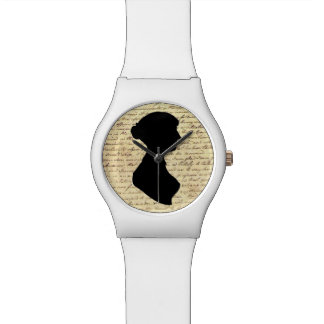 Jane Austen silhouette watch