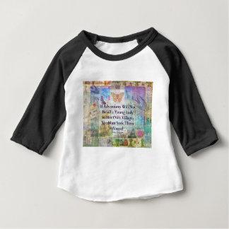 Jane Austen travel adventure quote Baby T-Shirt
