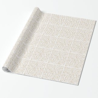 Jane Austen Wrapping Paper