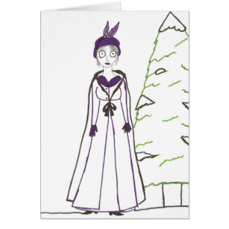 Jane Austen's Creepy Christmas Card