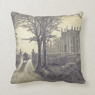 Jane Austen's Mansfield Park Throw Pillow